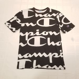 Champion T Shirt All Over Print Size SML
